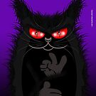 IAGO THE MIDNIGHT CAT by peter chebatte