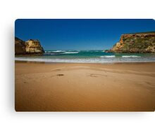 Beach and southern ocean at Childers Cove, Victoria, Australia Canvas Print