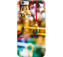 christmas plane toy iPhone Case/Skin