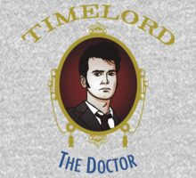 Dr. Who - Timelord - Tenth Doctor (Variant) Baby Tee