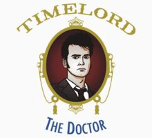 Dr. Who - Timelord - Tenth Doctor (Variant) One Piece - Long Sleeve