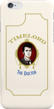 Dr. Who - Timelord - Tenth Doctor (Variant) by huckblade