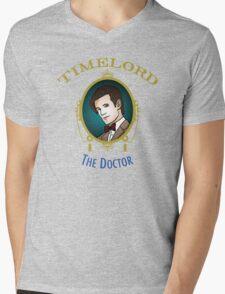 Dr. Who - Timelord - Eleventh Doctor (Variant) Mens V-Neck T-Shirt