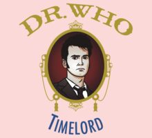 Dr. Who - Timelord - Tenth Doctor Kids Tee