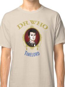 Dr. Who - Timelord - Tenth Doctor Classic T-Shirt