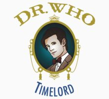 Dr. Who - Timelord - Eleventh Doctor One Piece - Short Sleeve