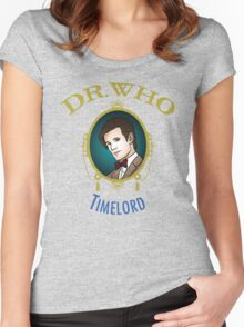 Dr. Who - Timelord - Eleventh Doctor Women's Fitted Scoop T-Shirt