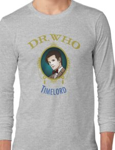 Dr. Who - Timelord - Eleventh Doctor Long Sleeve T-Shirt