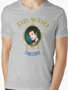 Dr. Who - Timelord - Eleventh Doctor Mens V-Neck T-Shirt