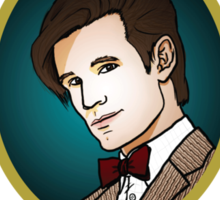 Dr. Who - Timelord - Eleventh Doctor Sticker