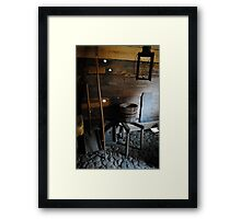 Historic Rooms Framed Print