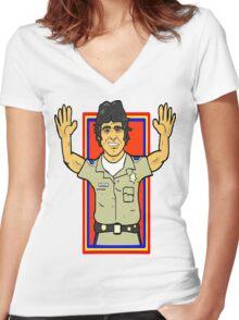 Viva Estrada!!!! Women's Fitted V-Neck T-Shirt