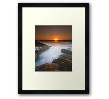 """Tomorrow Turned Into Yesterday"" ∞ Gerroa, NSW - Australia Framed Print"