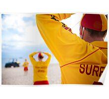 Surf Life Savers Poster