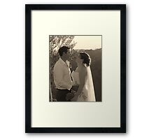 Adoring Looks Framed Print