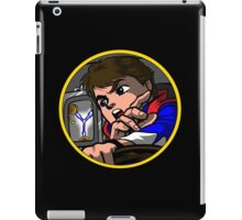 Time Travel Racer iPad Case/Skin