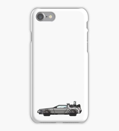 NOW IS THE FUTURE - Delorean 2015 iPhone Case/Skin
