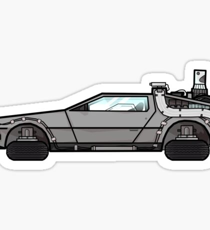 NOW IS THE FUTURE - Delorean 2015 Sticker