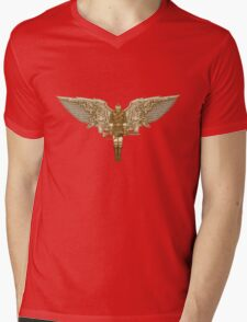 Steampunk T-shirt Peregrine 1 Mens V-Neck T-Shirt