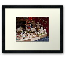Getting ready for Christmas Framed Print