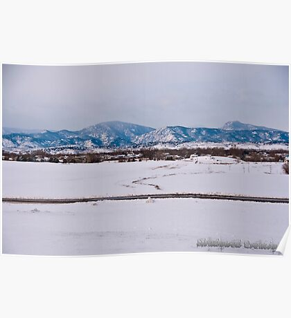 Colorado Rocky Mountains  Poster