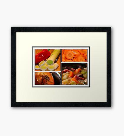 Vegetable Framed Print