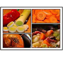 Vegetable Photographic Print