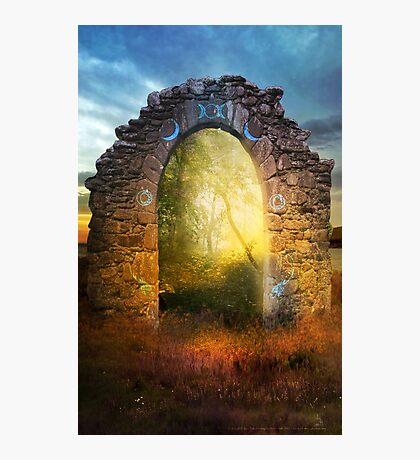The Entry Photographic Print