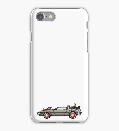 NOW IS THE FUTURE - Delorean 1955 iPhone Case/Skin