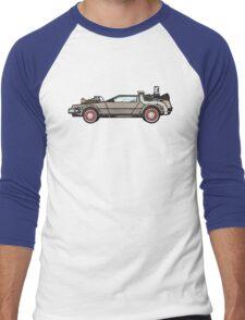 NOW IS THE FUTURE - Delorean 1955 Men's Baseball ¾ T-Shirt