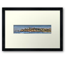 Location, Location - Freshwater, Sydney Australia (40 Exposure HDR Pano) - The HDR Experience Framed Print