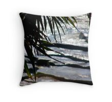 Coastal path  Throw Pillow