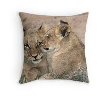 Brotherly love! Throw Pillow
