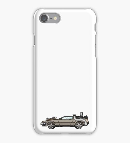 NOW IS THE FUTURE - Delorean 1885 iPhone Case/Skin