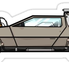 NOW IS THE FUTURE - Delorean 1885 Sticker