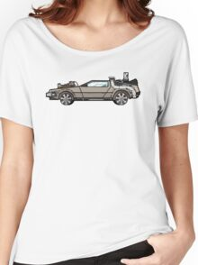 NOW IS THE FUTURE - Delorean 1885 Women's Relaxed Fit T-Shirt