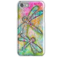 Mixed Media Dragonfly iPhone Case/Skin