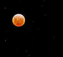 Earth, Moon & Sun Align, 10th Dec 2011 by Julia Harwood
