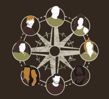 LOST characters compass T-Shirt