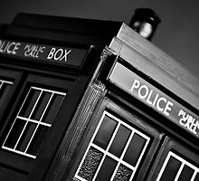 An Old Police Box by Nick Egglington