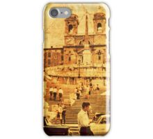 Vintage Spanish Stairs i Phone Case iPhone Case/Skin