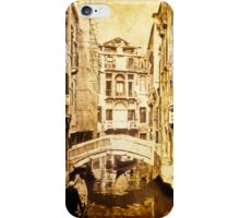 Vintage Venice Canal i Phone Cover iPhone Case/Skin