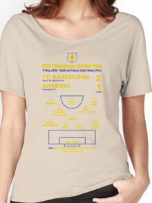 Barça 2-1 Arsenal UCL Final 2006 Women's Relaxed Fit T-Shirt