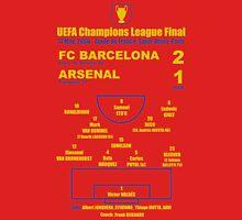 Barça 2-1 Arsenal UCL Final 2006 Unisex T-Shirt