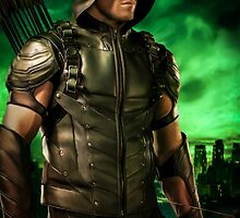 The Vigilante of Starling City- Oliver Queen by Loverdove