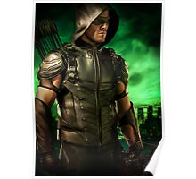 The Vigilante of Starling City- Oliver Queen Poster