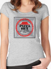 NOW IS THE FUTURE - Pizza 2015 Women's Fitted Scoop T-Shirt