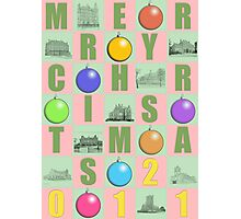 Mery Christmas 2011 Photographic Print