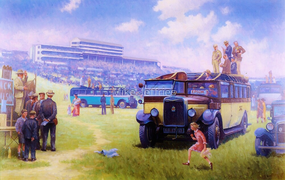 Leyland Lioness coach. by Mike Jeffries