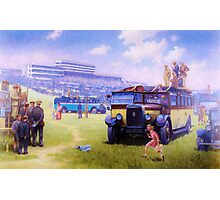 Leyland Lioness coach. Photographic Print